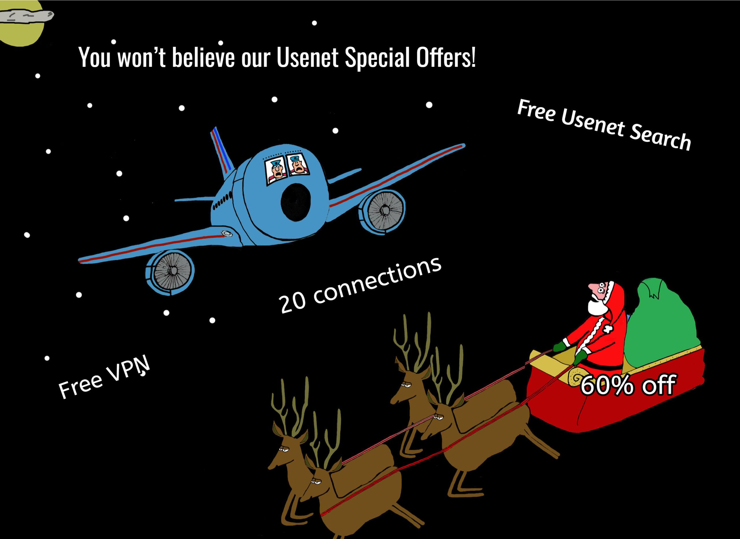 2018 Usenet Holiday Promotions